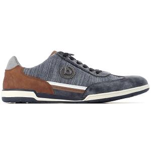 Bugatti Rufino Hommes Chaussures Basses Chaussure Lacée 312-41801-1100-6300 Marron Nouveau
